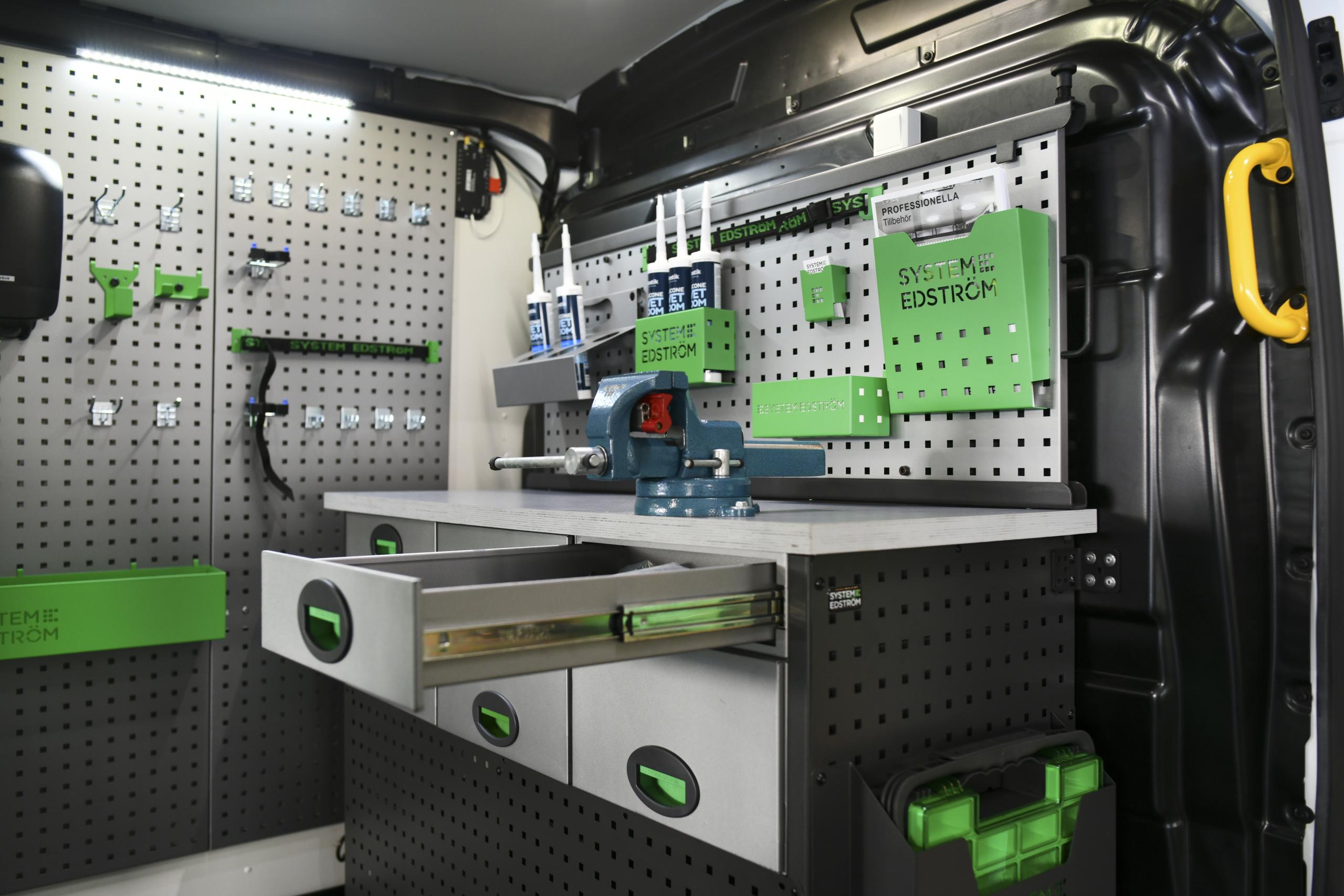 Aménagements Metallique - System Edstrom - Avalanche Aménagements Utilitaires