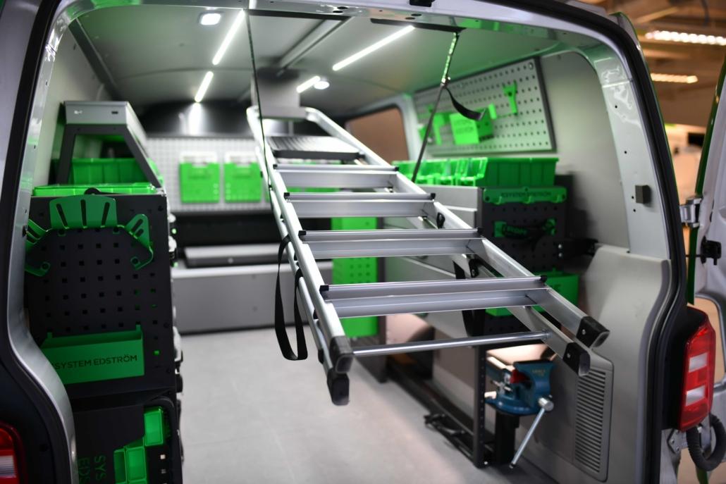 System Edstrom meubles métalliques Avalanche Aménagements Utilitaires